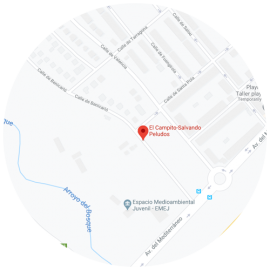 Localización Campito